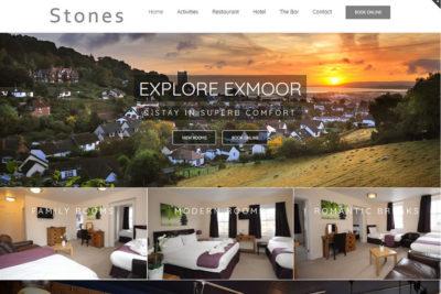 Restaurant website designers in Minehead