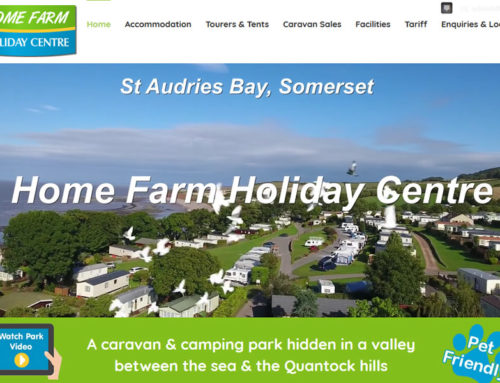 Holiday Park Website Redevelopers