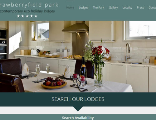 New Website for 5 Star Platinum Holiday Lodges in Somerset