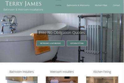 Bathroom and Wetroom Website designers in Somerset