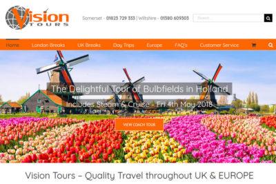 Coach Website designers in Somerset