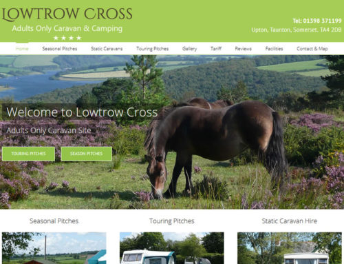 Dedevelopment of Lowtrow Cross Caravan and Camping Website
