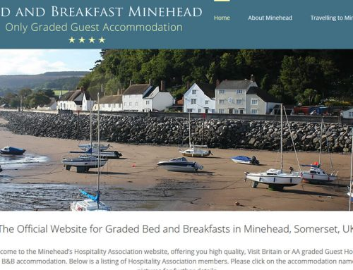 New Website for Offical Minehead Bed and Breakfast Association