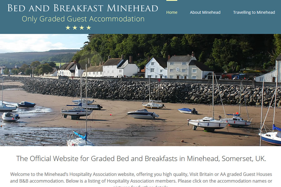 Official Bed and Breakfast Association of Minehead