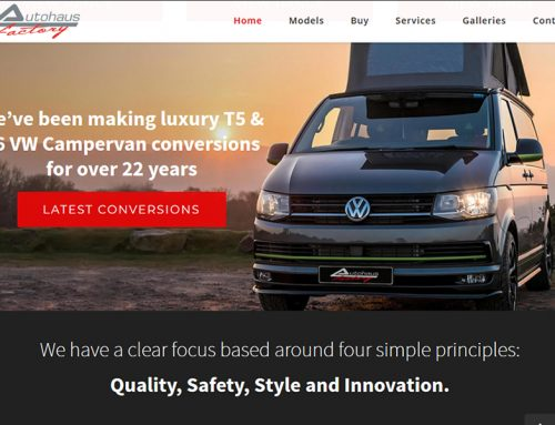 New Website for Autohaus VW Camper Conversion Specialists