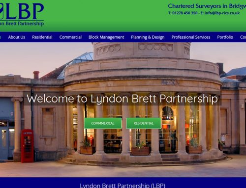 Website Redevelopment for Lyndon Brett Partnership in Bridgwater