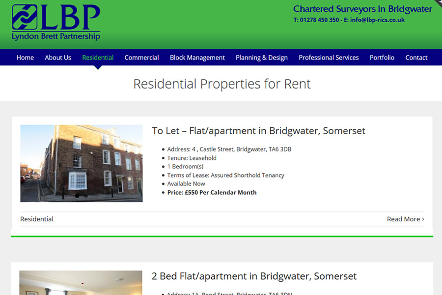 Website Designers in Bridgwater