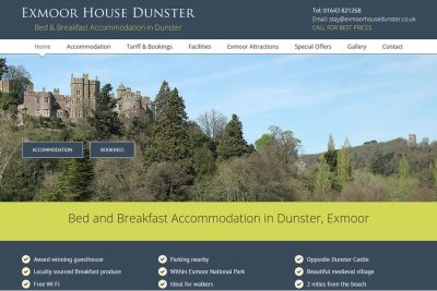Website Designers in Minehead, Taunton
