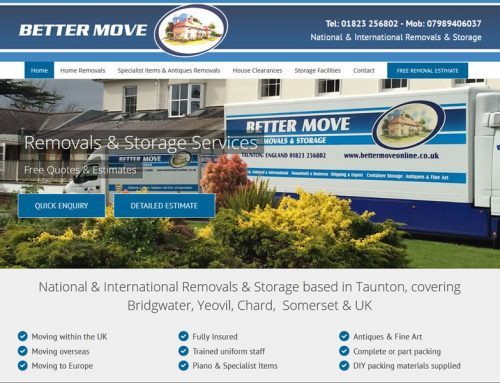 Website Upgrade for Better Move in Taunton