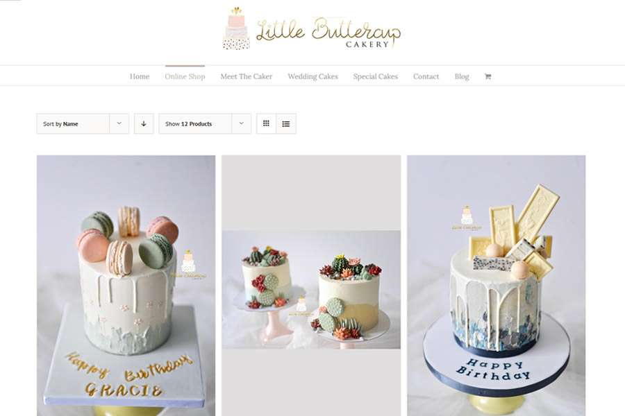 Cake Maker Ecommerce Website Designers in Taunton, Somerset