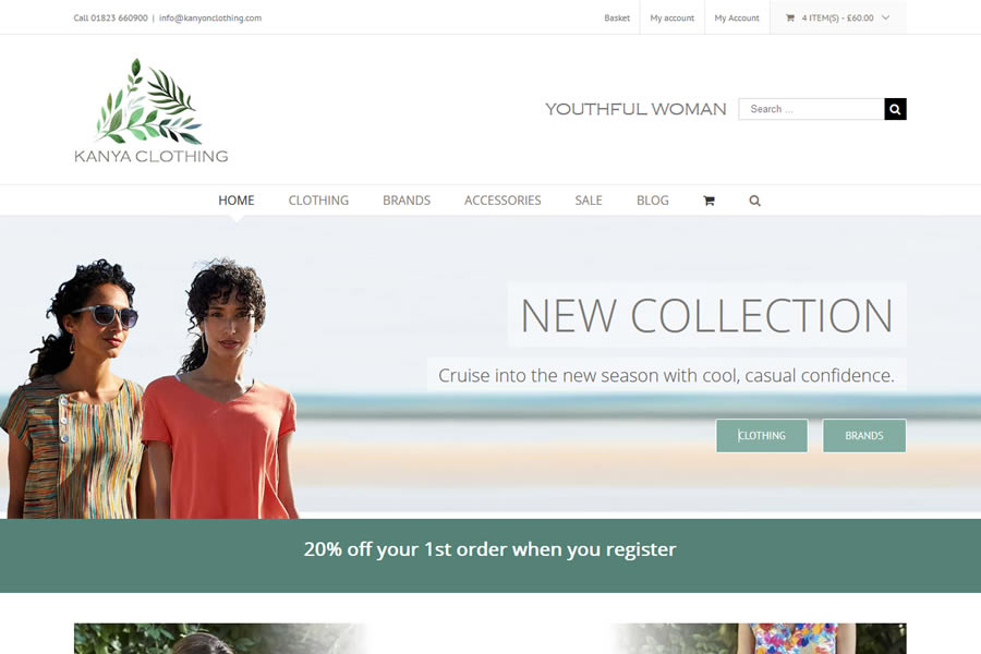 Clothes Ecommerce Website Designers in Taunton, Somerset