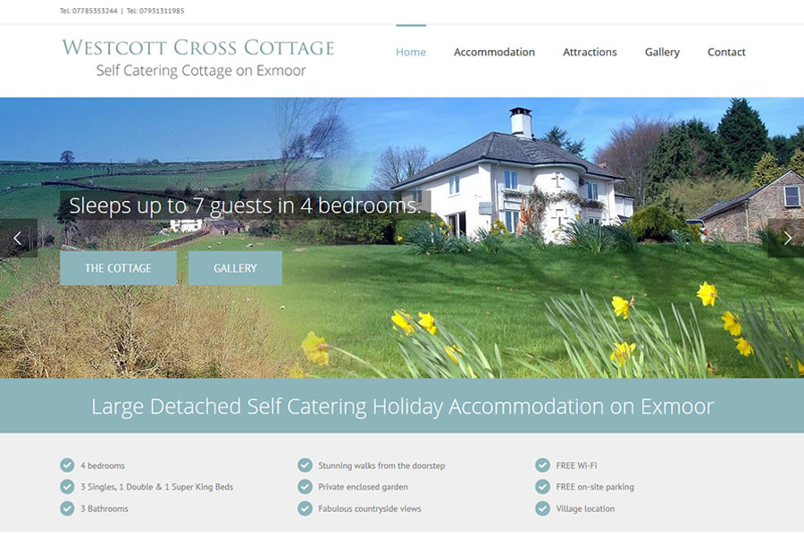 Accommodation Website Designers in Somerset